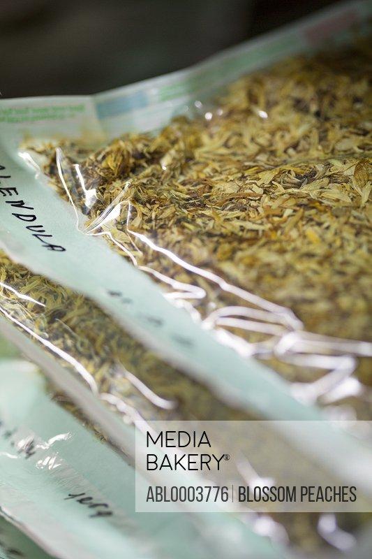 Packaged Dried Calendula