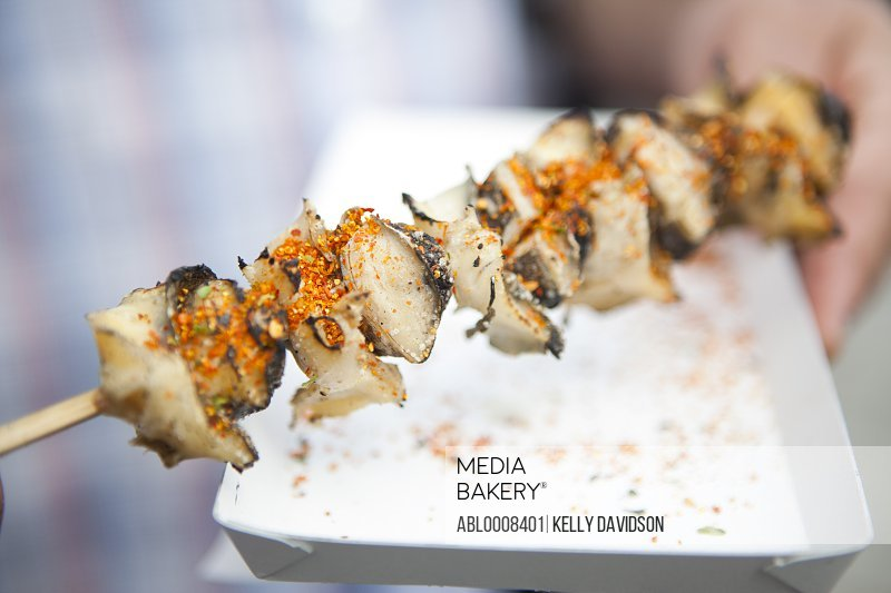 Snails on a Skewer, Yakitori
