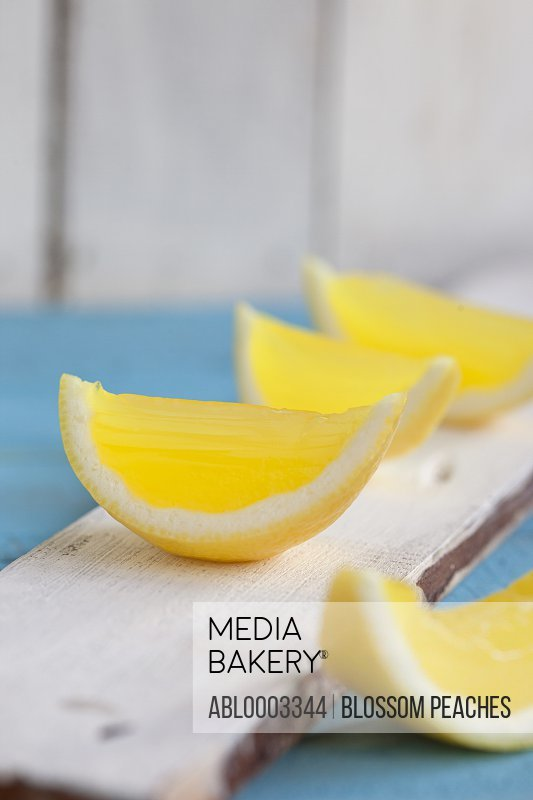 Lemon Wedges, Close-up View