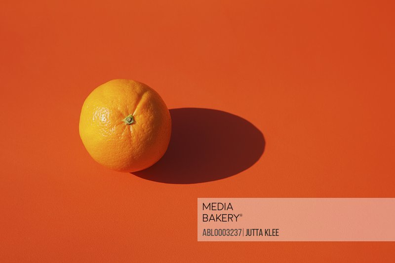 Orange on Orange Background