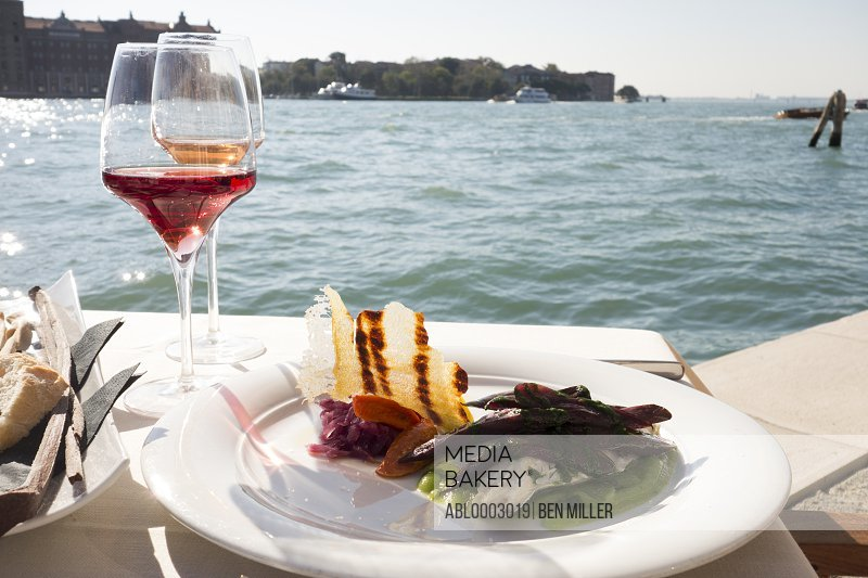 Waterfront Dining in Venice, Italy