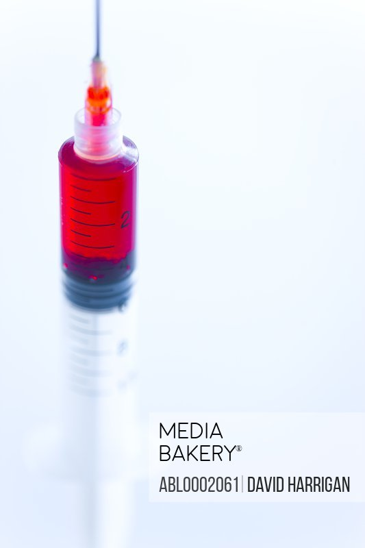 Syringe Full of Blood
