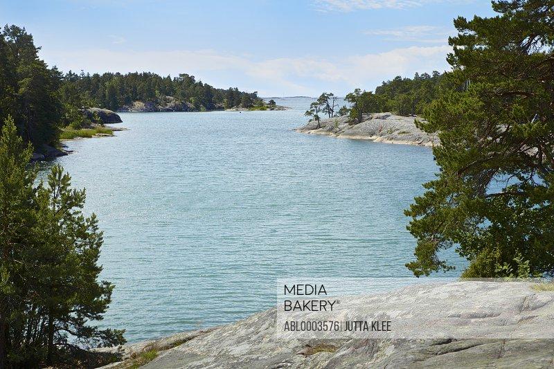 Inlet of Water at Stendörren Nature Reserve, Sweden
