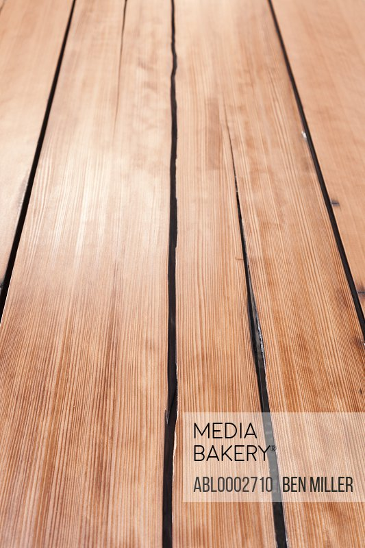 Extreme Close up of Wood Planks