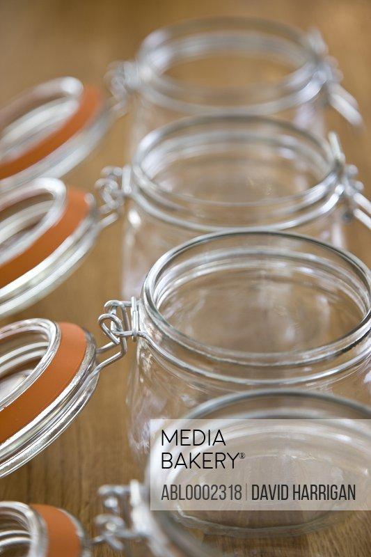 Mason Jars - Close-up view