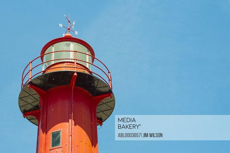 Lighthouse against Blue Sky