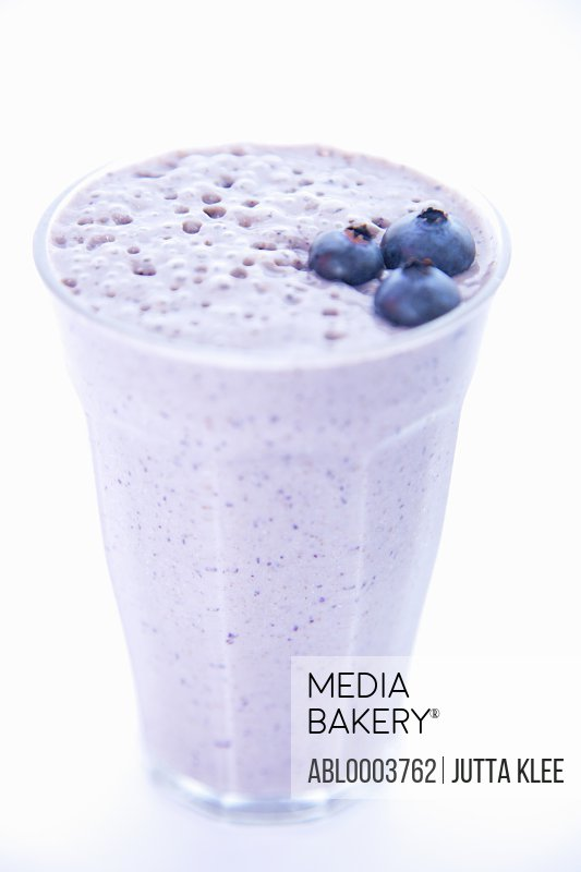 Blueberry Milk Shake