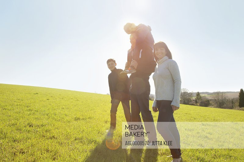 Family Group Outdoors
