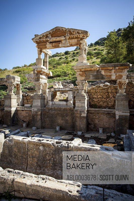 Remains of the Temple of Artemis at Ephesus, Turkey