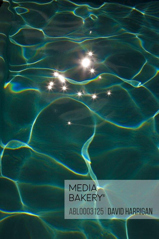 Swimming Pool Water, Full Frame