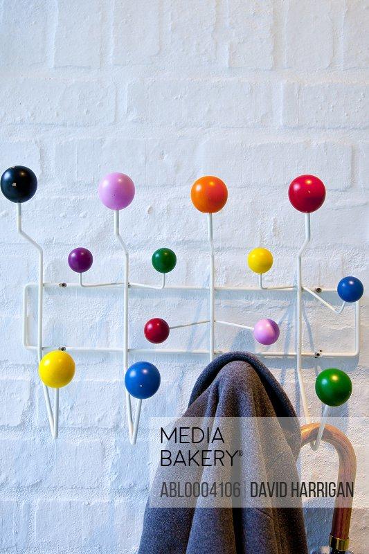 Colourful Coat Rack