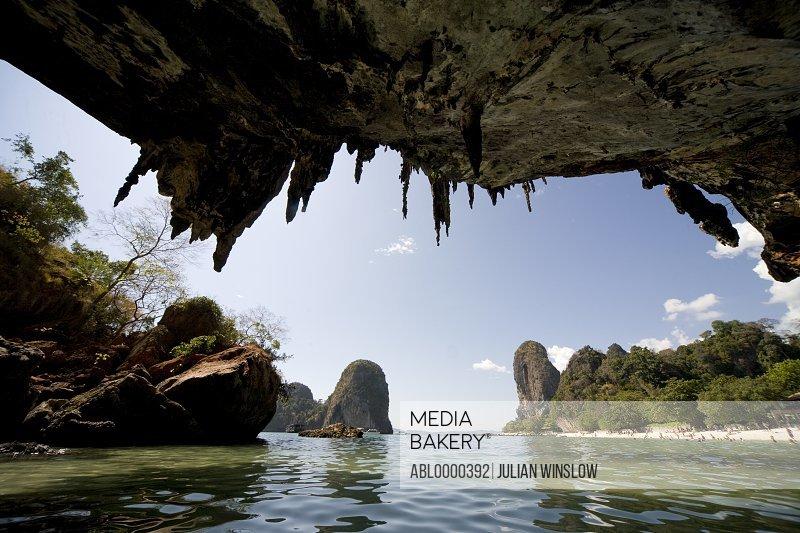 Cave In Railay Beach Thailand