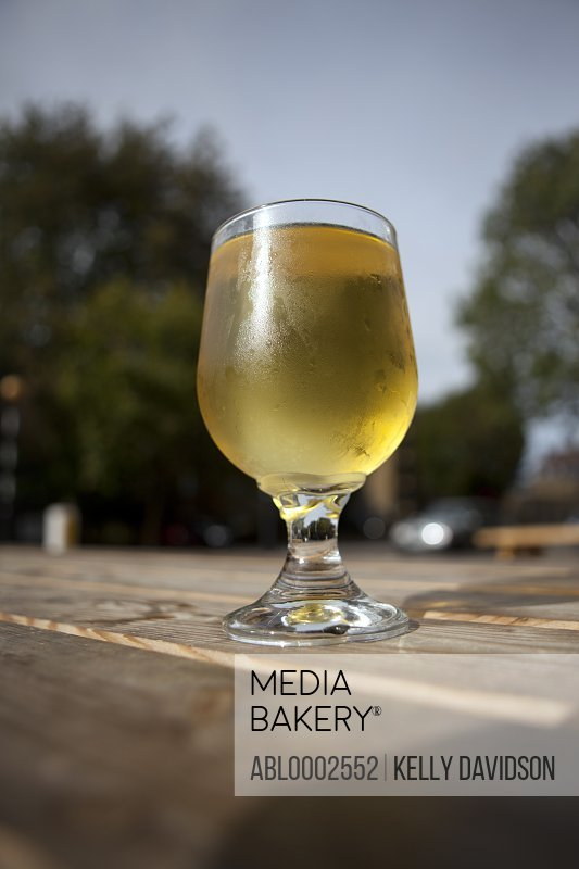 Glass of Chilled Beer