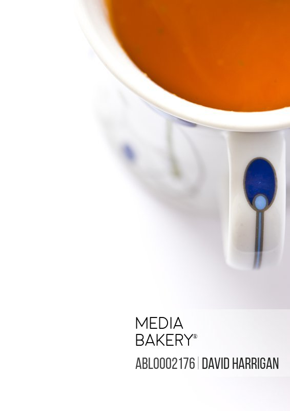 Tomato Soup in a Cup - Close-up View