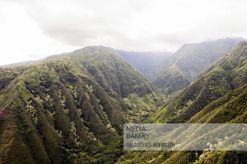 Green Canyons, Hawaii, USA