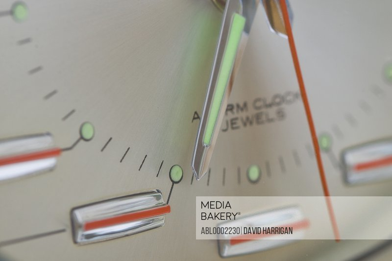 Clock Hands - Close-up view