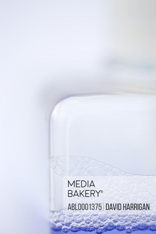 Close up of a liquid soap dispenser