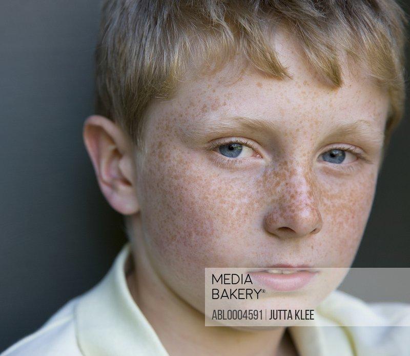 Close up of boy
