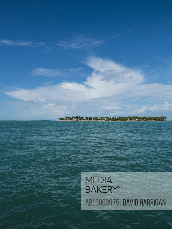 Blue Ocean and Tropical Island
