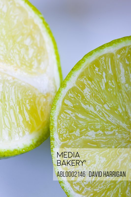 Freshly Cut Lime - Close-up view