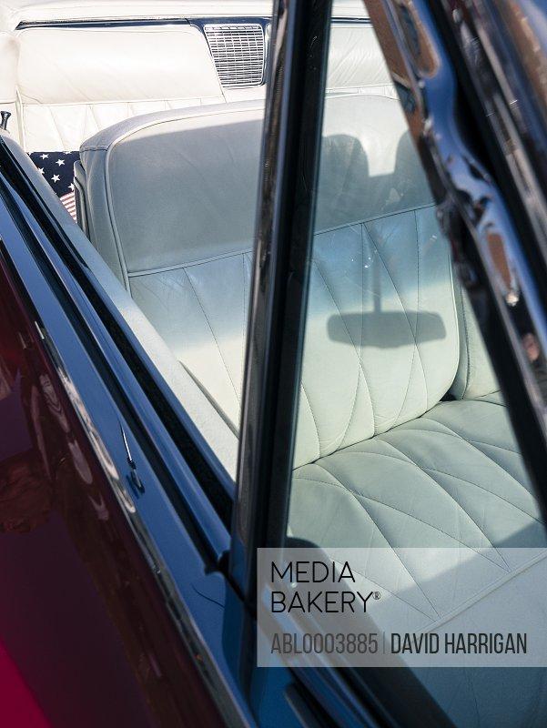 Convertible Vintage Car Side Window