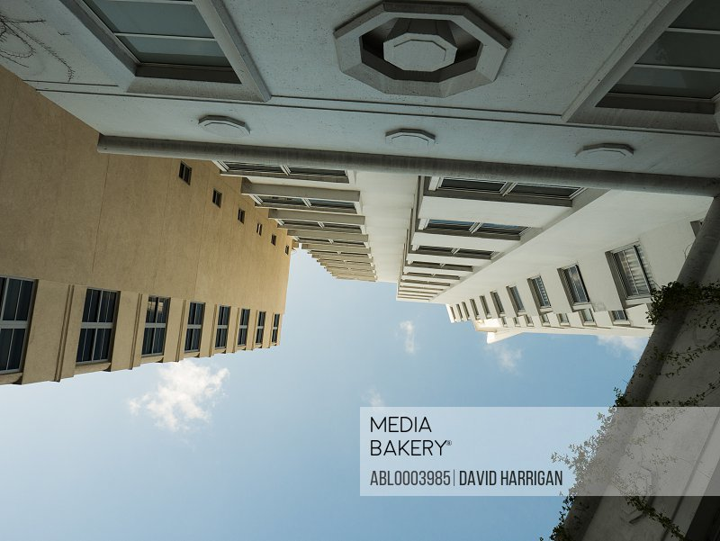 Art deco Multi storey building, Miami Beach, Florida, USA, Low angle view