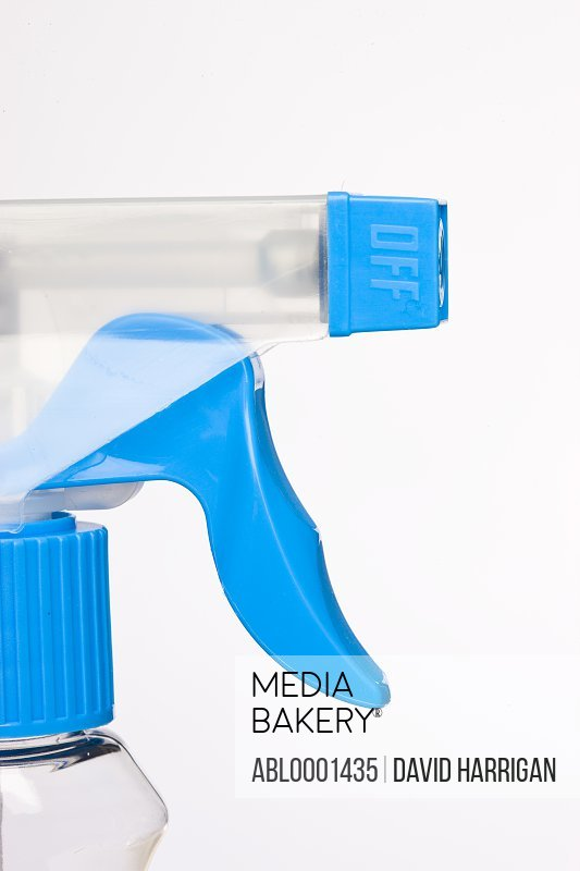 Close up of a cleansing spray nozzle
