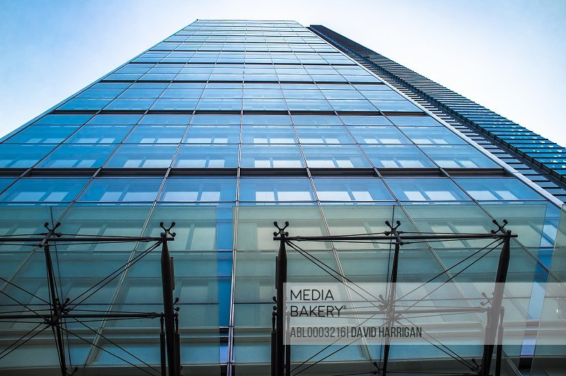 Office Building, Low angle view, London, England, UK