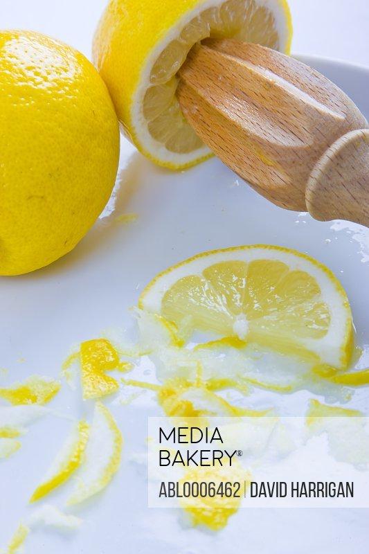 Juicer and Lemons - Close-up view