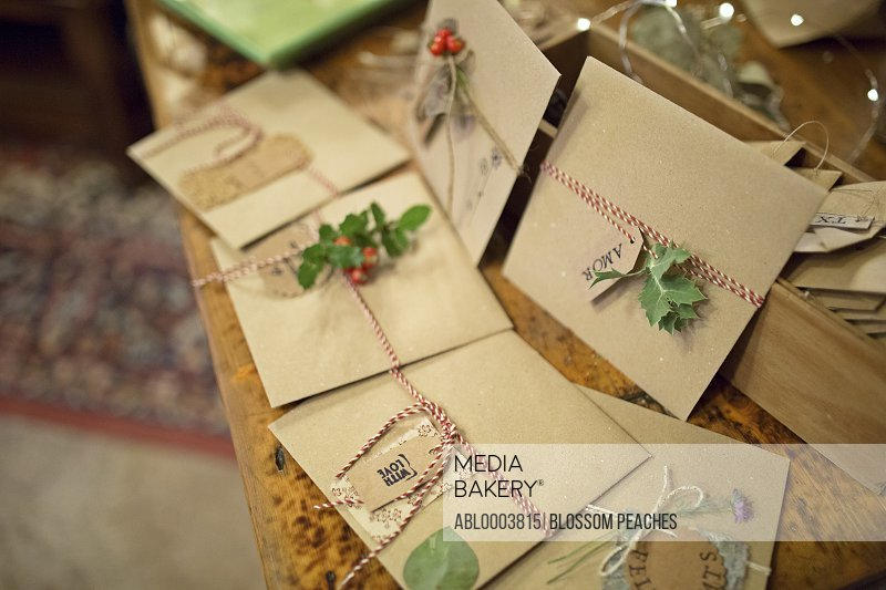 Christmas Cards made with Recycled Paper