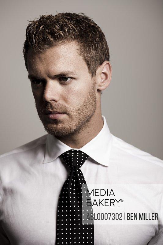 Man Wearing Tie