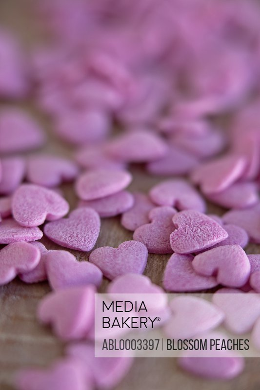 Pink Heart Shaped Candies