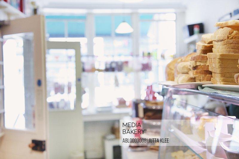 Interior of Sandwich Shop