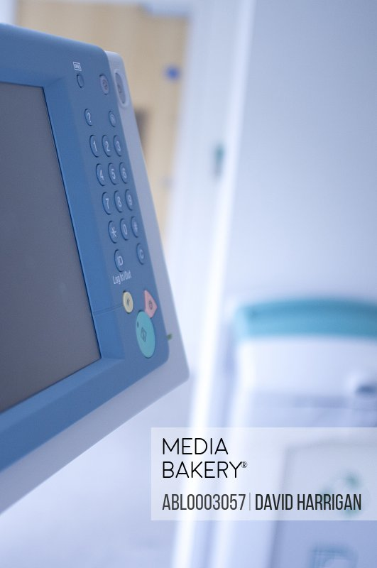 Photocopier Control Panel