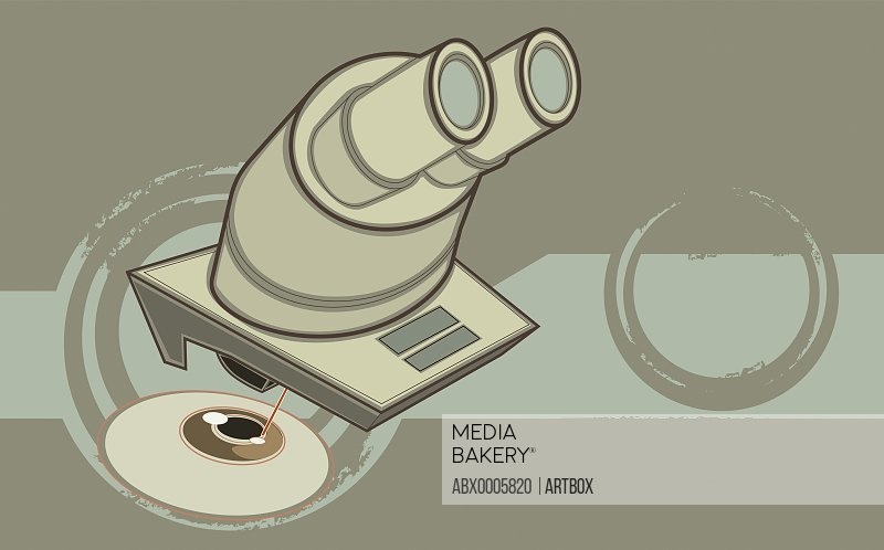 Eye test equipment examining human eye