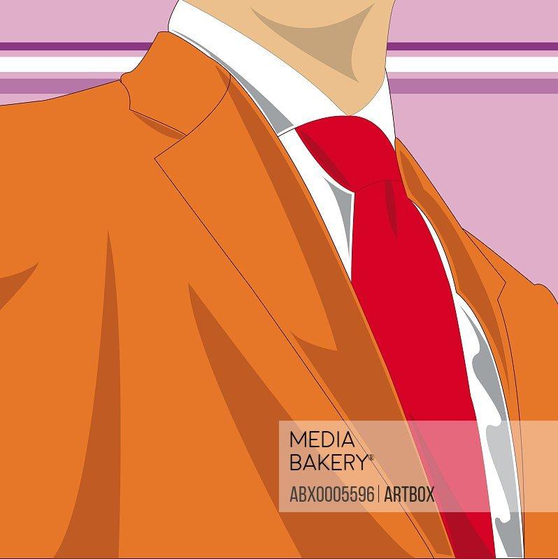 Businessman wearing a business suit