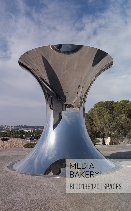 Metal Reflective Sculpture
