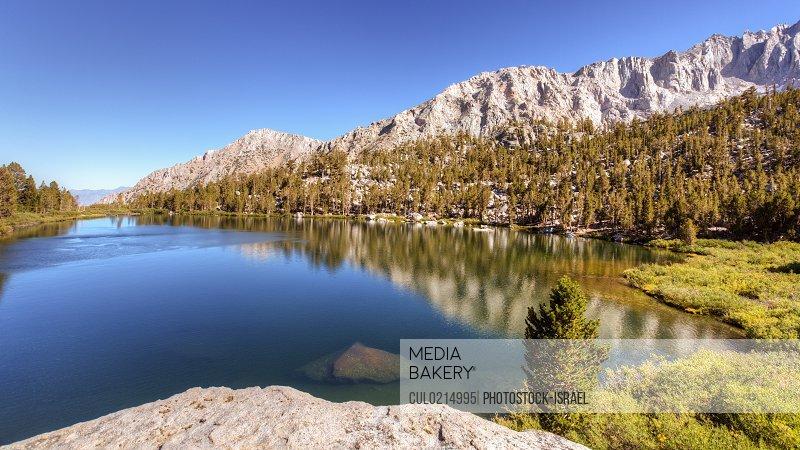 Onion Valley Sierra Nevada mountain range California USA