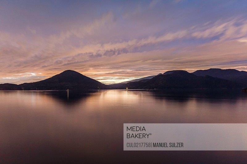 Howe Sound Bay Squamish British Columbia Canada