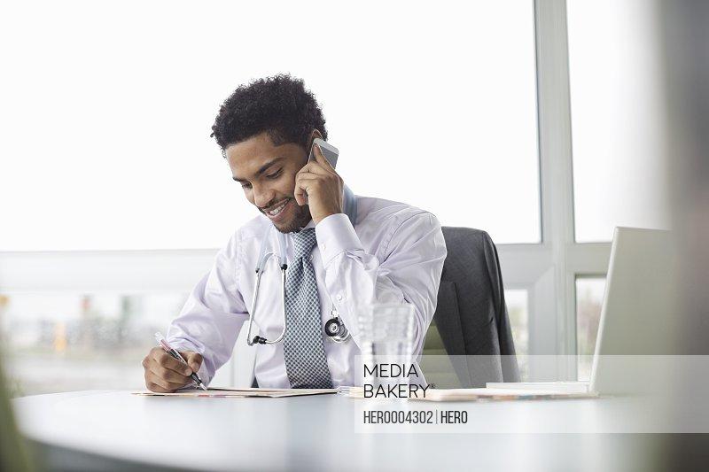 Doctor multi-tasking